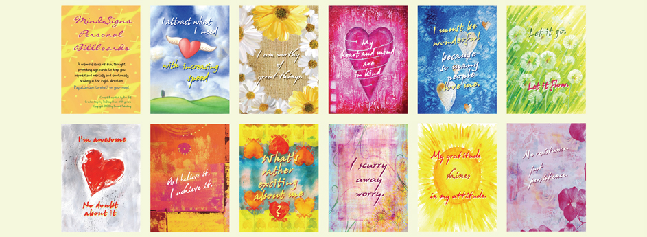 Uplifting Greeting Cards
